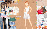 Sale dress up girl spelletjes